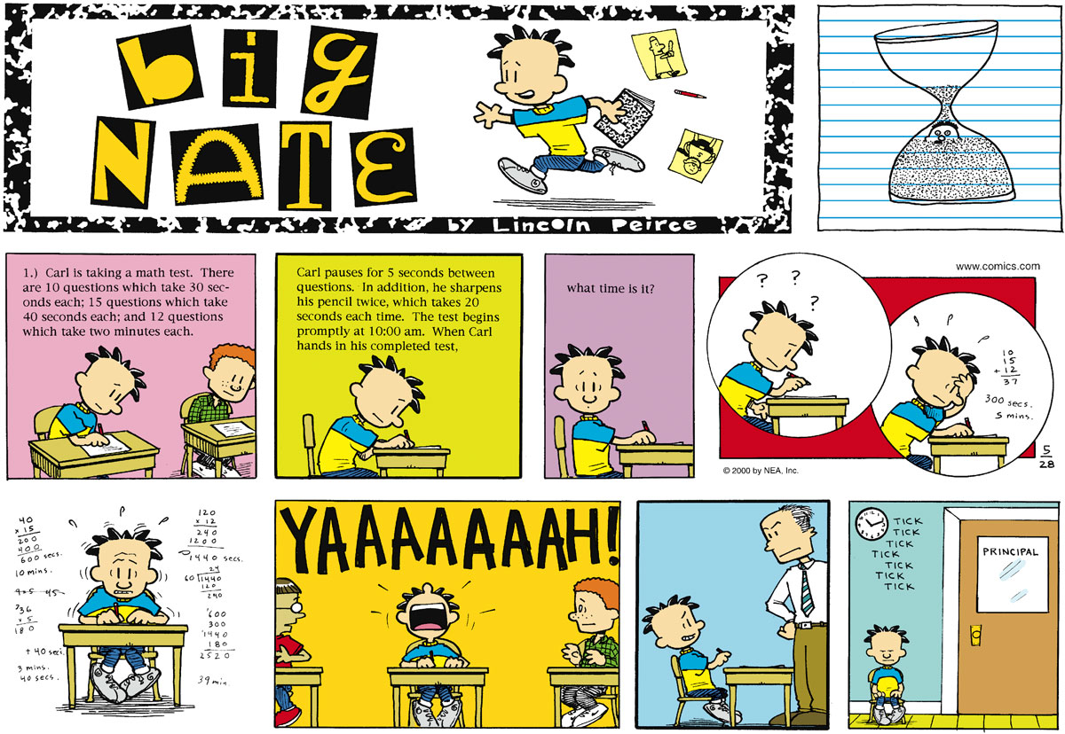Big Nate Comic Strip for May 28, 2000