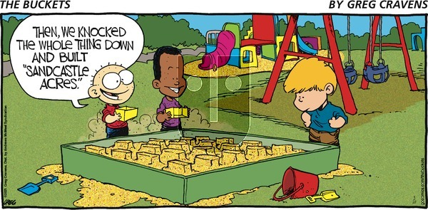 The Buckets on Sunday March 28, 2021 Comic Strip