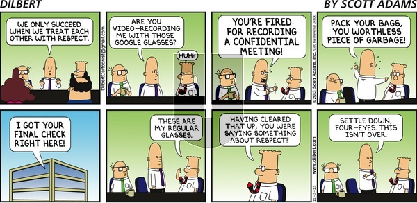 Dilbert - Sunday November 3, 2013 Comic Strip