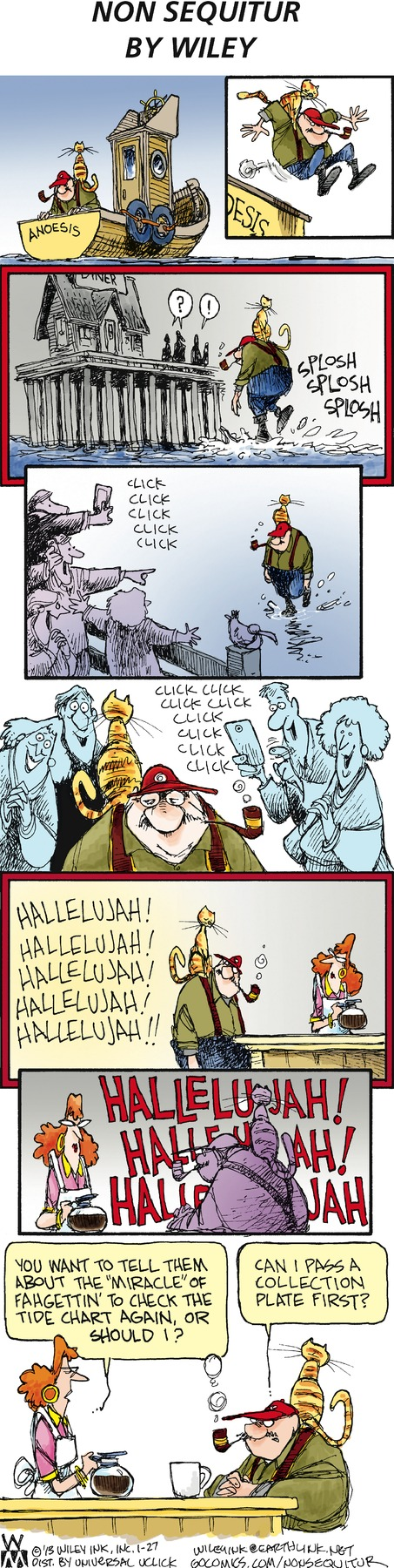 Non Sequitur Comic Strip for January 27, 2013