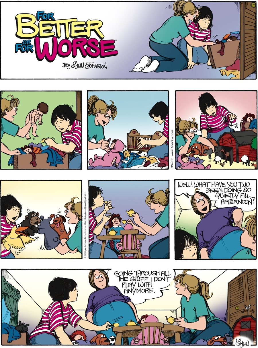 For Better or For Worse Comic Strip for May 23, 2021