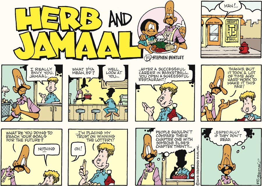 Herb and Jamaal Comic Strip for October 06, 2013
