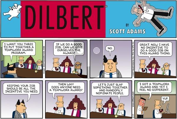 Dilbert - Sunday August 2, 2009 Comic Strip
