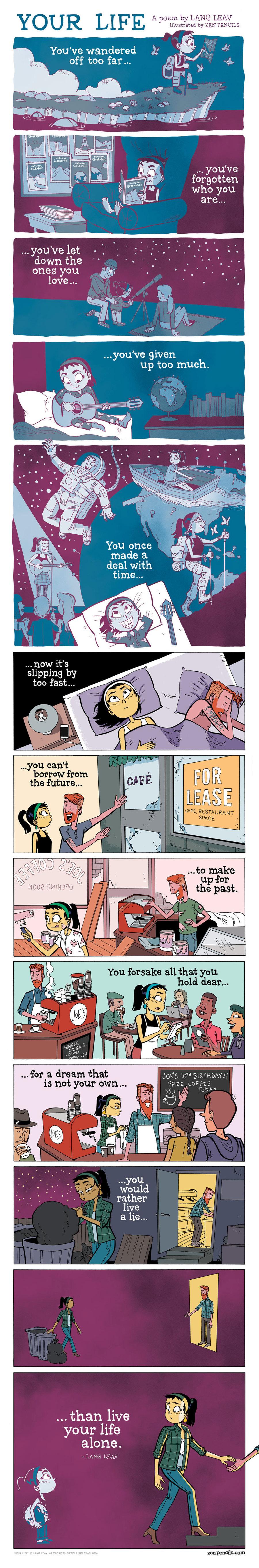 Zen Pencils Comic Strip for February 04, 2019