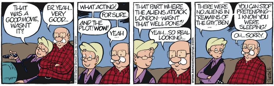 Ben Comic Strip for June 04, 2020
