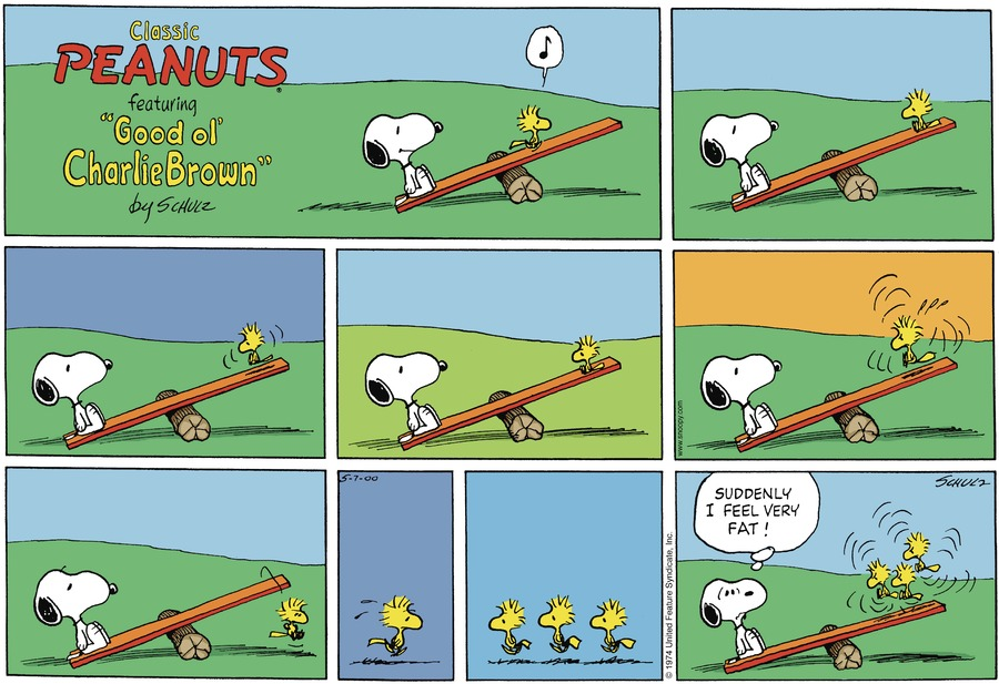 Peanuts Comic Strip for May 07, 2000