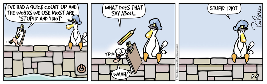 Ollie and Quentin Comic Strip for September 21, 2019