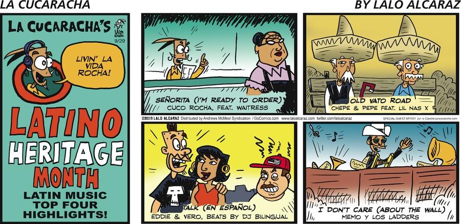 La Cucaracha Comic Strip for September 29, 2019