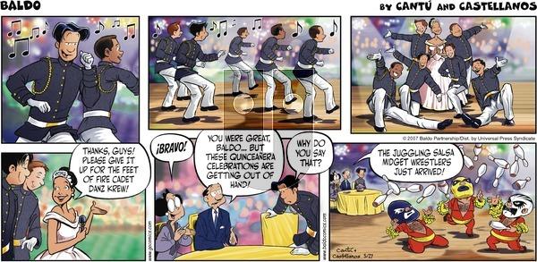 Baldo on Sunday May 27, 2007 Comic Strip