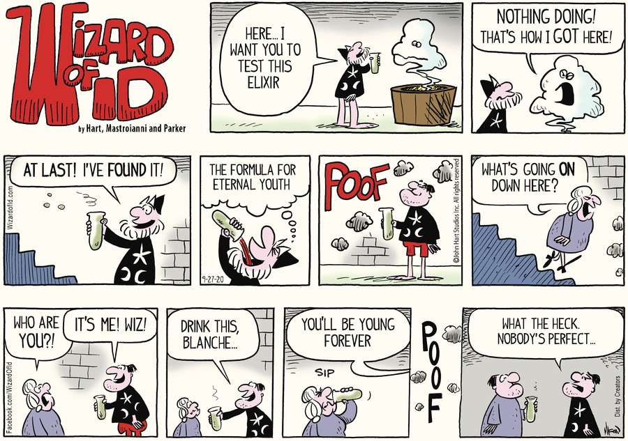 Wizard of Id Comic Strip for September 27, 2020