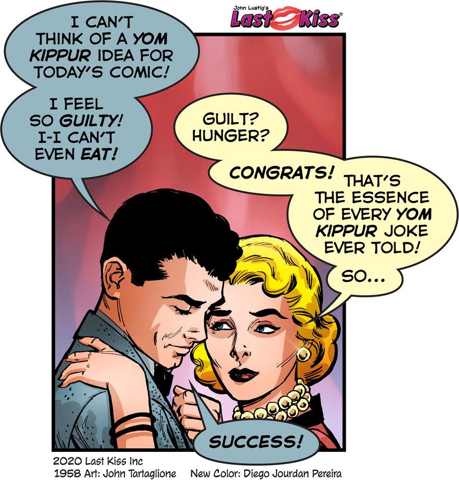 Last Kiss Comic Strip for September 28, 2020