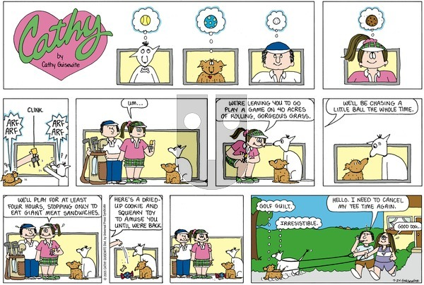 Cathy on Sunday July 24, 2005 Comic Strip