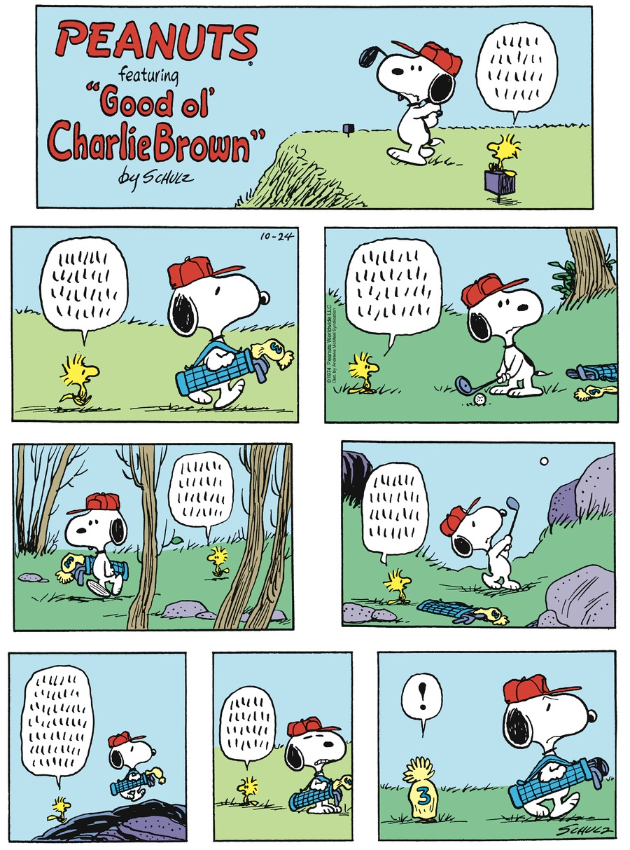 Peanuts by Charles Schulz on Sun, 24 Oct 2021