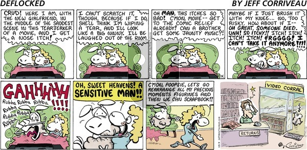 DeFlocked on Sunday October 9, 2011 Comic Strip