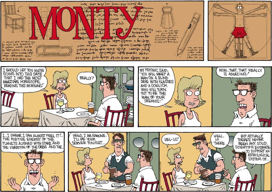 Monty for Aug 19, 2012 Comic Strip