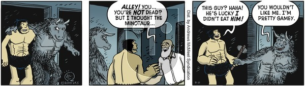 Alley Oop - Thursday July 11, 2019 Comic Strip