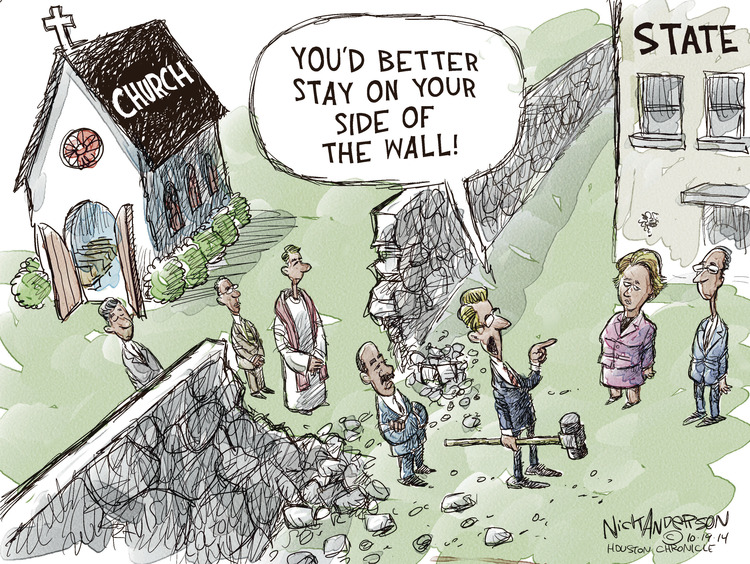 Nick Anderson Comic Strip for October 19, 2014