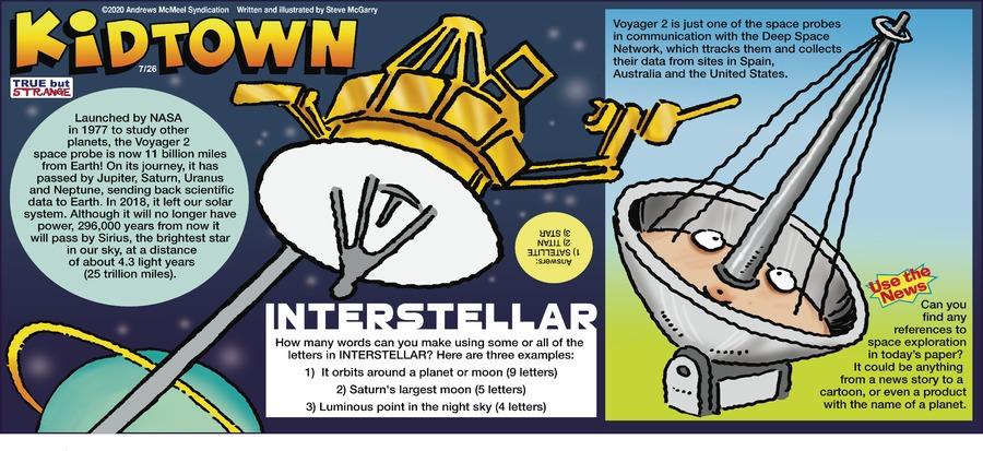 KidTown Comic Strip for July 26, 2020
