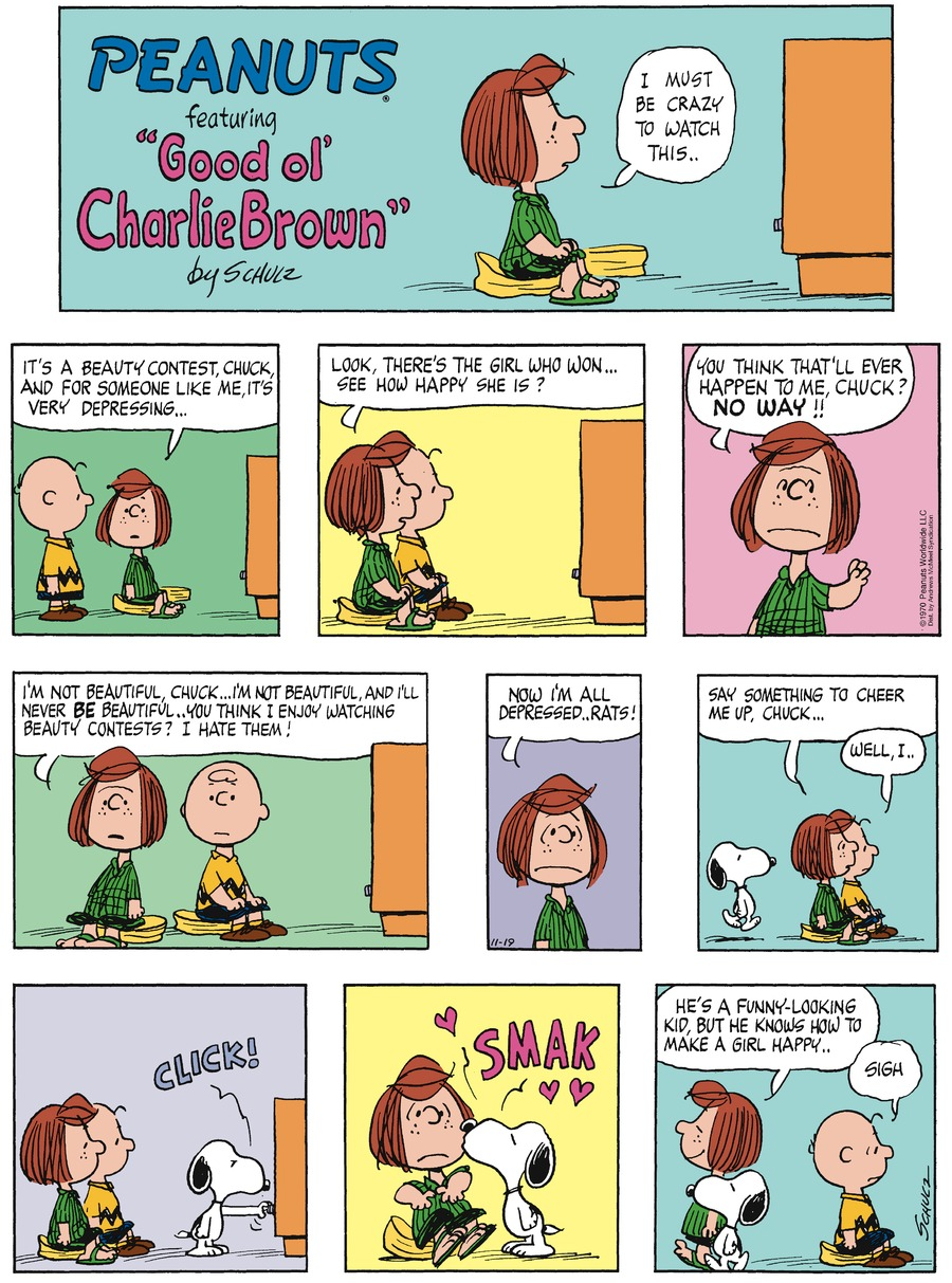 Peanuts for Nov 19, 2017 Comic Strip