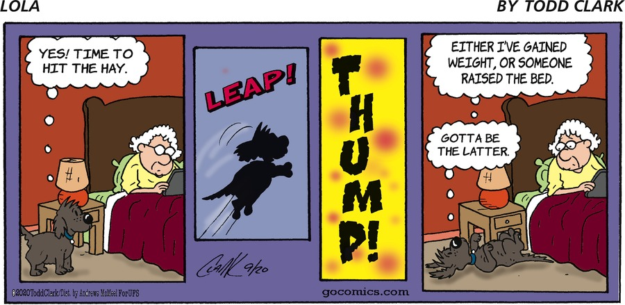 Lola Comic Strip for September 20, 2020