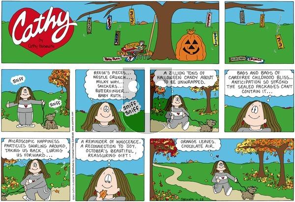 Cathy Classics on Sunday October 28, 2001 Comic Strip