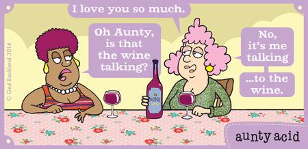 Aunty Acid for Nov 11, 2014 Comic Strip