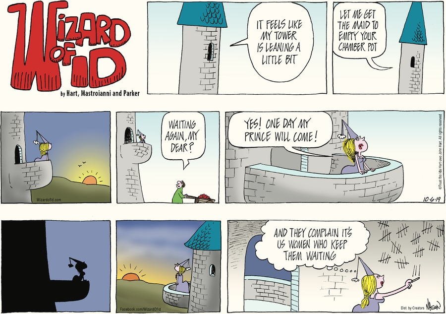 Wizard of Id Comic Strip for October 06, 2019