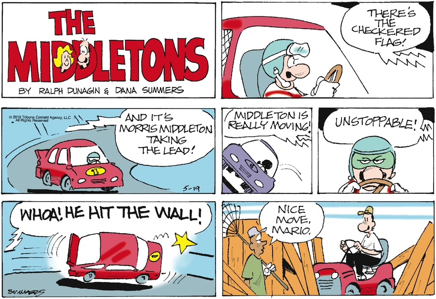 The Middletons Comic Strip for May 19, 2019