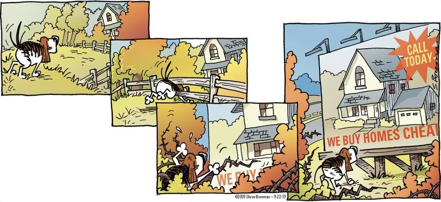 Little Dog Lost Comic Strip for September 22, 2019
