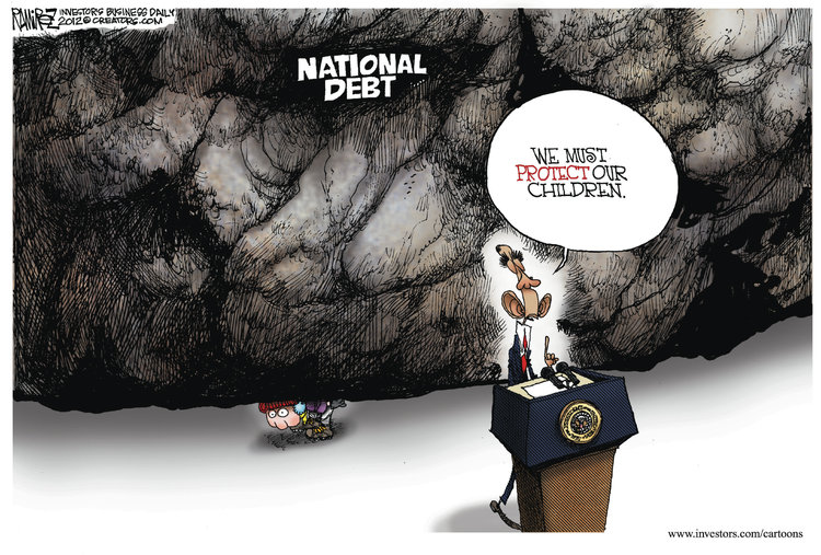 Michael Ramirez Comic Strip for December 23, 2012