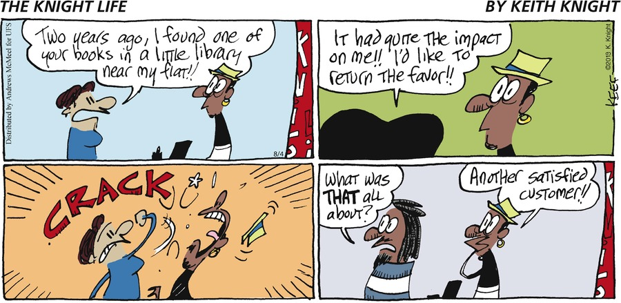 The Knight Life Comic Strip for August 04, 2019