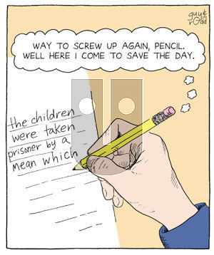 Brevity on Friday April 29, 2005 Comic Strip
