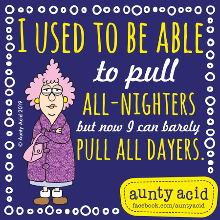 Aunty Acid by Ged Backland for June 30, 2019