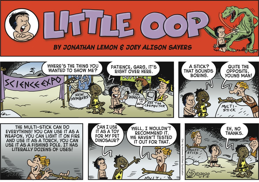 Alley Oop Comic Strip for January 26, 2020