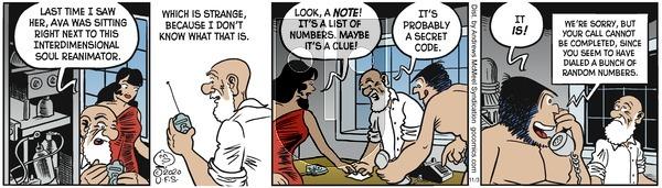 Alley Oop - Tuesday November 3, 2020 Comic Strip