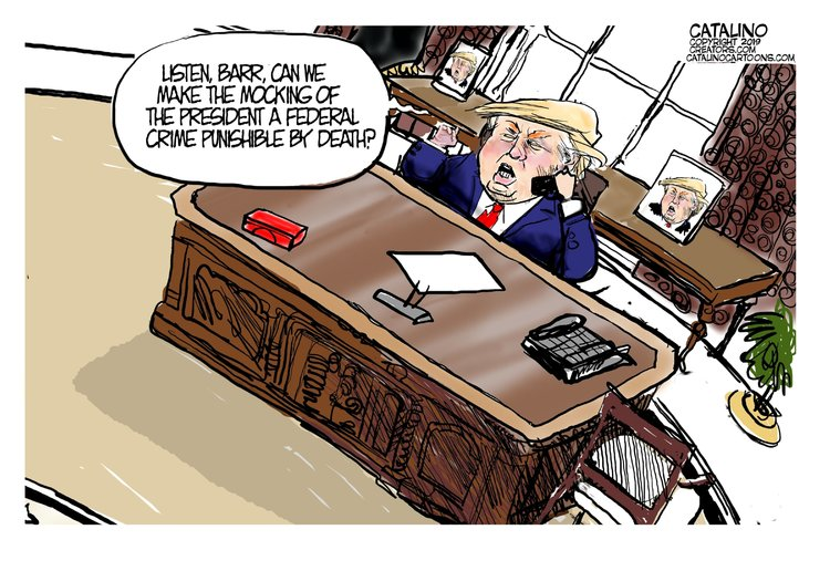 Ken Catalino Comic Strip for July 27, 2019