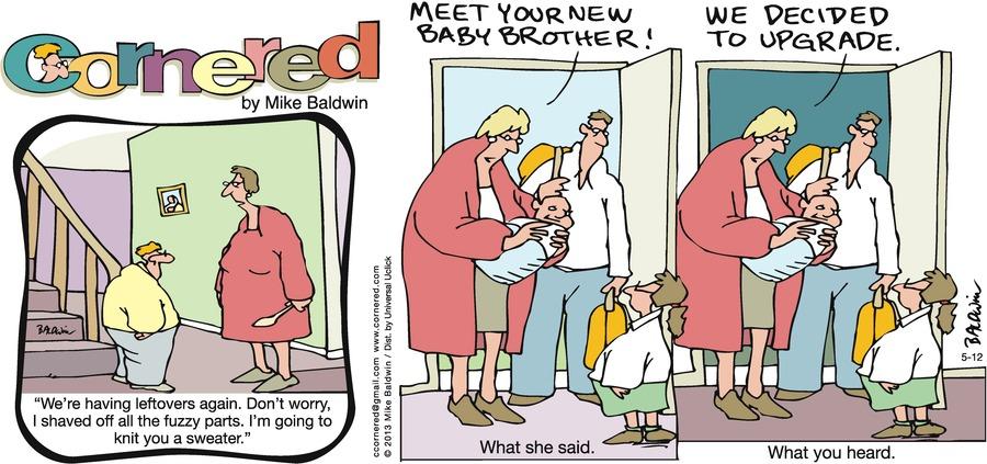 Cornered for May 12, 2013 Comic Strip