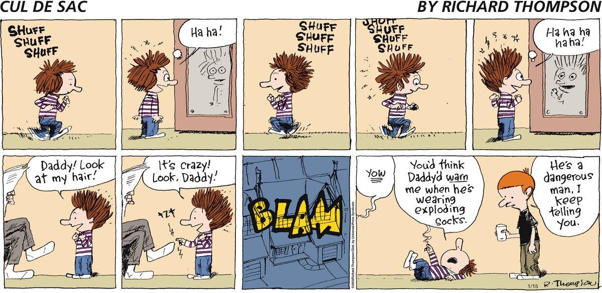 Cul de Sac Comic Strip for January 15, 2012