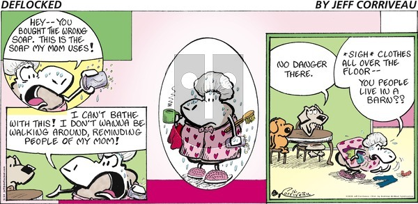 DeFlocked on Sunday May 24, 2020 Comic Strip
