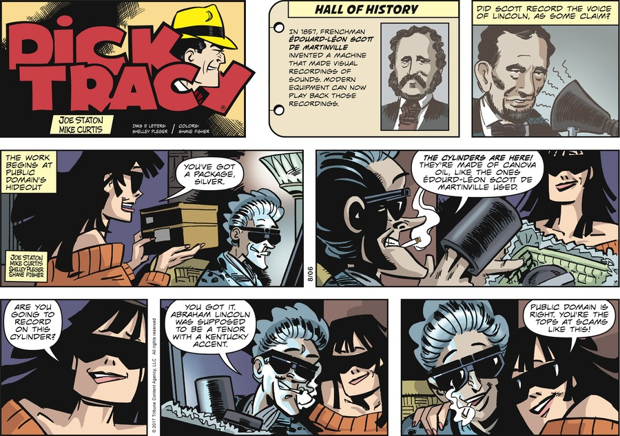 Dick Tracy Comic Strip for August 06, 2017