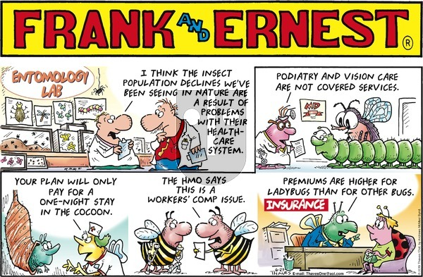 Frank and Ernest on Sunday June 23, 2019 Comic Strip