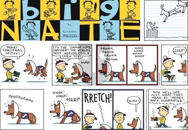 Big Nate - Sunday December 25, 2016 Comic Strip