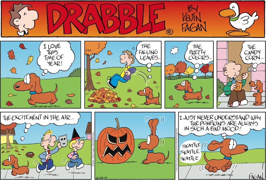 Drabble by Kevin Fagan on Sun, 24 Oct 2021