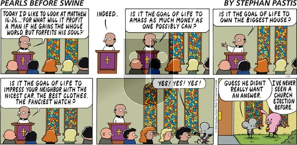 Pearls Before Swine on Sunday November 20, 2016 Comic Strip