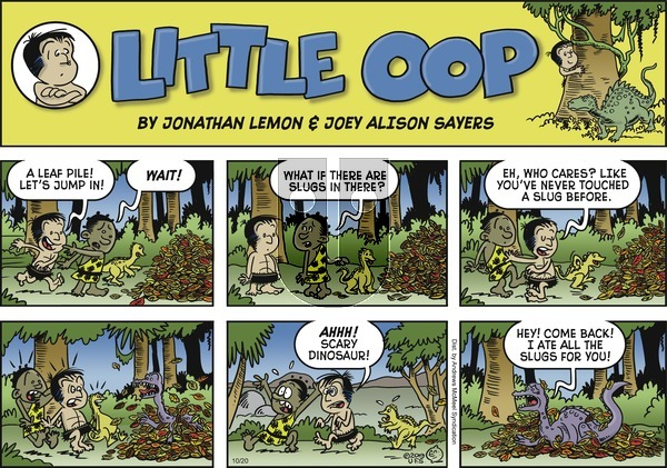 Alley Oop on Sunday October 20, 2019 Comic Strip