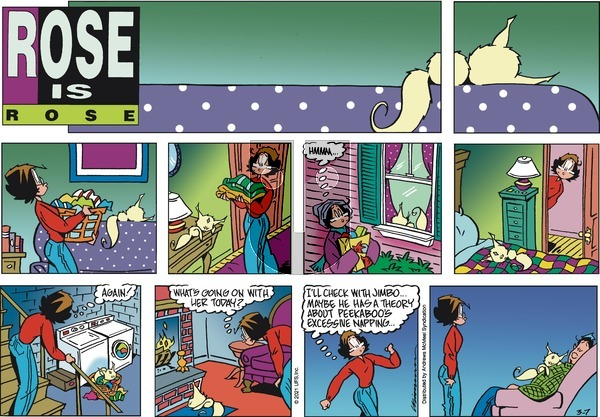 Rose is Rose on Sunday March 7, 2021 Comic Strip