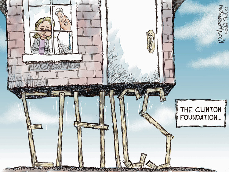 Nick Anderson Comic Strip for April 26, 2015