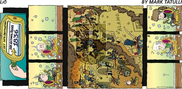 Lio on Sunday August 5, 2012 Comic Strip