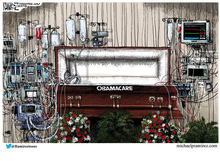 Michael Ramirez for Jul 11, 2017 Comic Strip