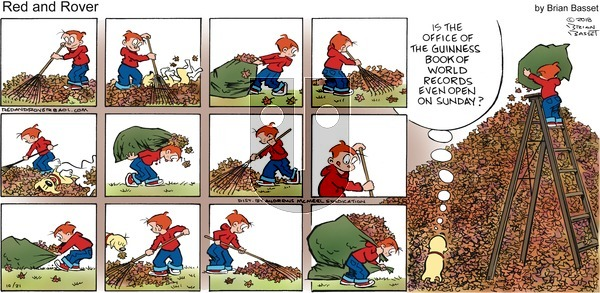 Red and Rover on Sunday October 21, 2018 Comic Strip